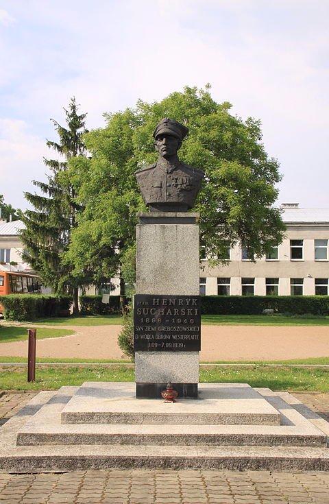 Zdjęcie Rodzinna miejscowość mjr Henryka Sucharskiego